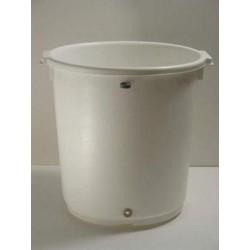 Bílá odvodňovací nádoba -...
