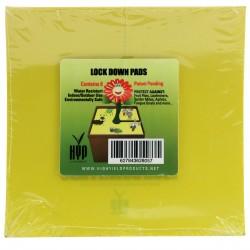 Hranaté desky lepové žluté...